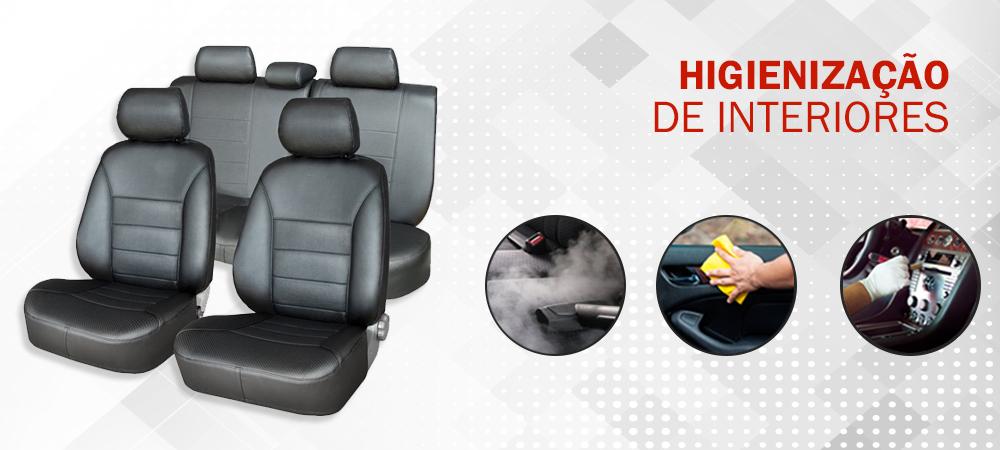 Higienização de Interiores - Garrett Centro de Reparação de Veículos - Auto Center e Estética Automotiva