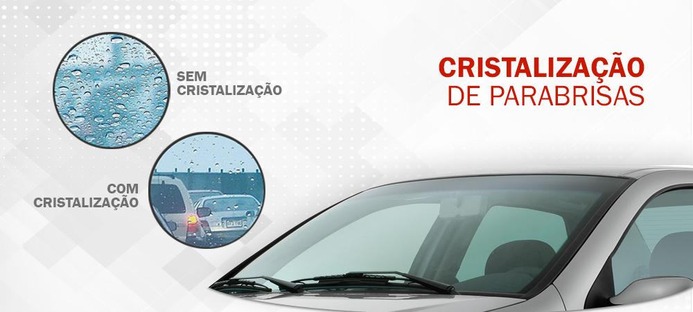 cristalização de para brisas Garrett Centro de Reparação de Veículos - Auto Center e Estética Automotiva