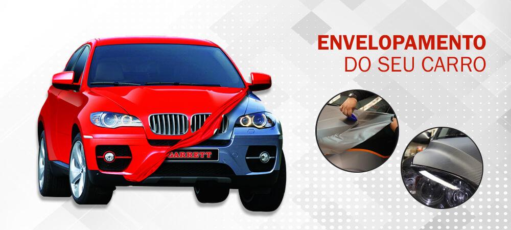 mecanica garrett funilaria e pintura em curitiba - envelopamento de carros